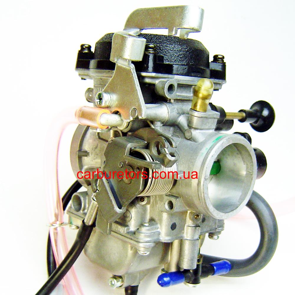 Carburetor Keihin CVK 34 TPS, manual choke plunger