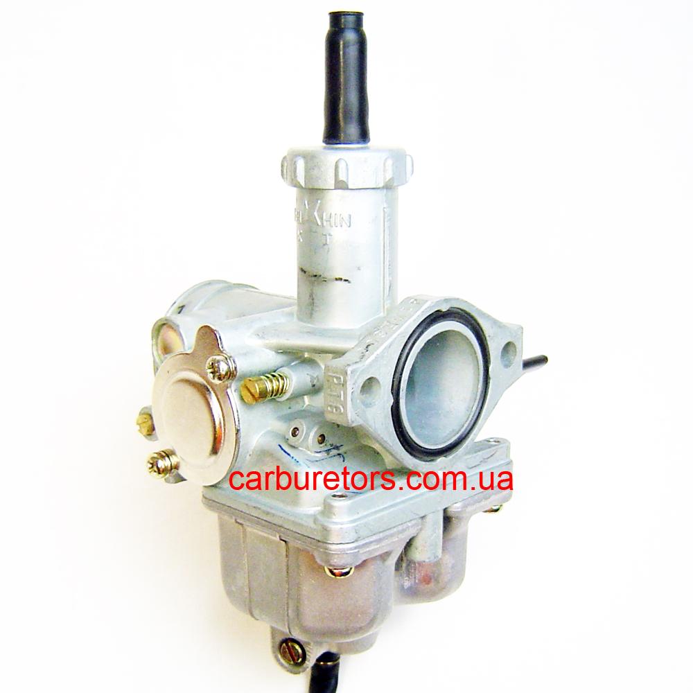 Carburetor Keihin PTG, manual choke lever